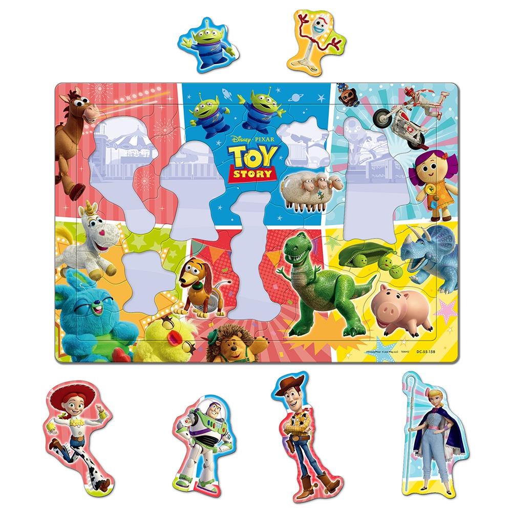 トイ・ストーリー チャイルドパズル できる!シリーズ 55ピース 「おもちゃごっこしよう!」