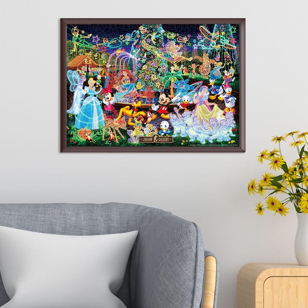 ディズニーオールキャラクター  ジグソーパズル 500ピース  「 マジカル イルミネーション 」