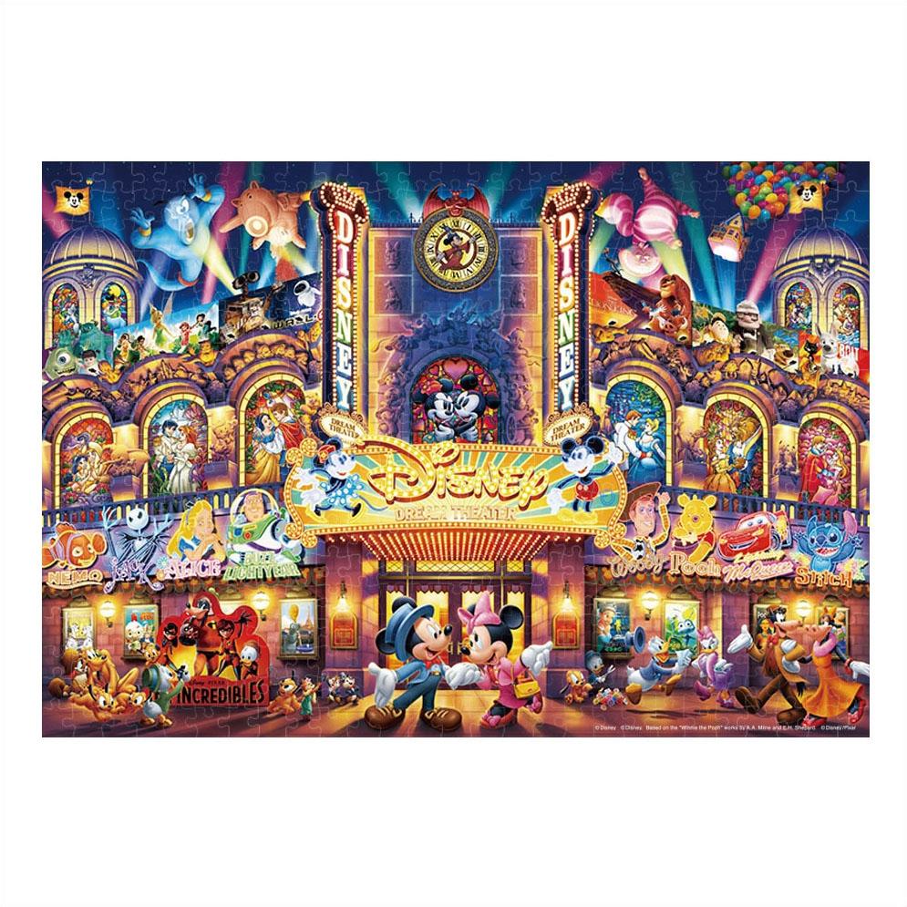 ディズニーオールキャラクター ジグソーパズル ステンドアート ぎゅっと500ピース 「ディズニー ドリーム シアター」