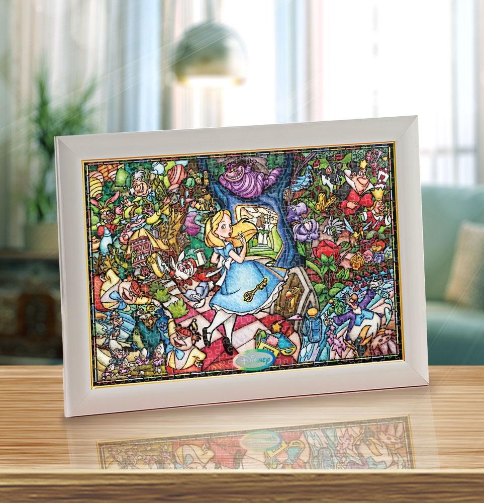 アリス ステンドアート ぎゅっと500ピース ジグソーパズル 「ふしぎの国のアリス ストーリー ステンドグラス」