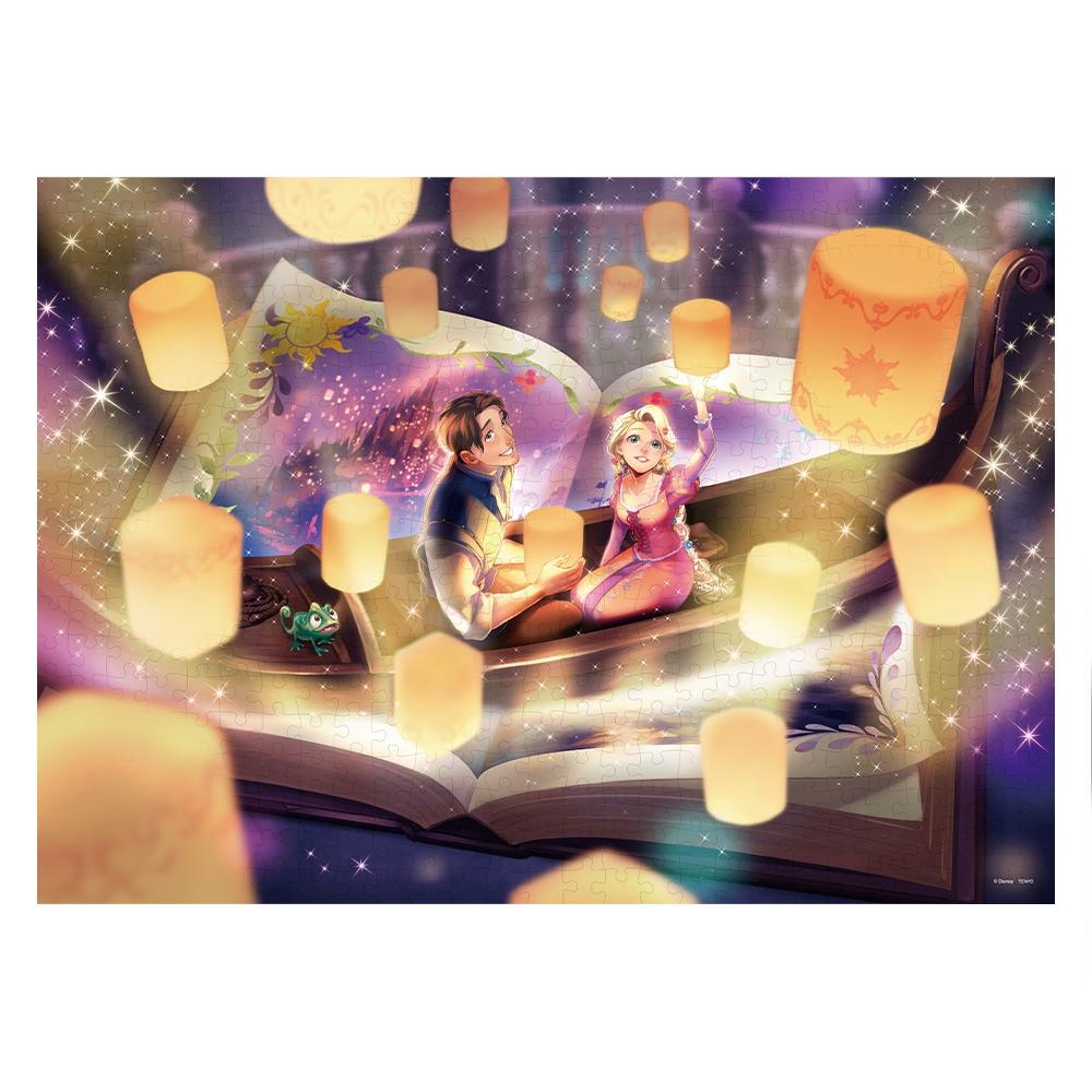 塔の上のラプンツェル ジグソーパズル 500ピース Once upon a timeシリーズ「 輝く奇跡の物語(塔の上のラプンツェル) 」