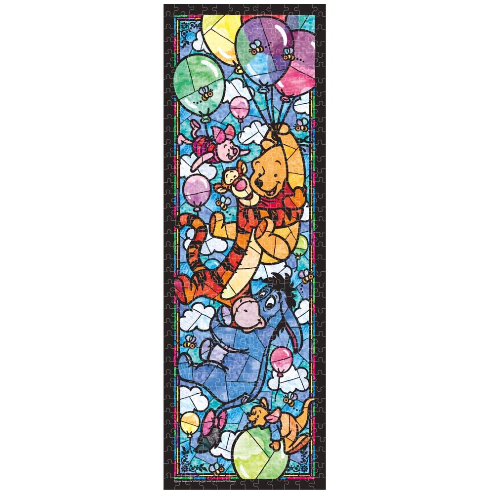 くまのプーさん ジグソーパズル ステンドアート ぎゅっと456ピース 「 くまのプーさん ステンドグラス」