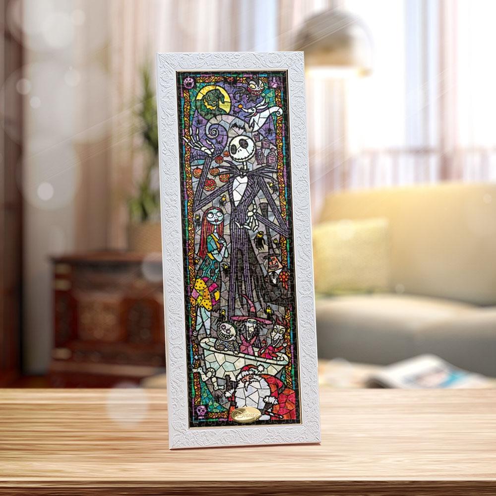 ナイトメアー・ビフォア・クリスマス ジグソーパズル ステンドアート ぎゅっと456ピース 「 ナイトメアー・ビフォア・クリスマス ステンドグラス」