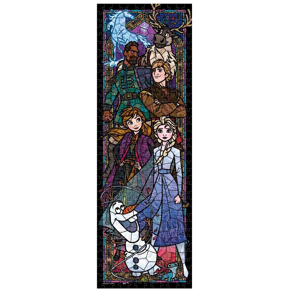 アナと雪の女王2 ジグソーパズル ステンドアート ぎゅっと456ピース 「 アナと雪の女王2 ステンドグラス」