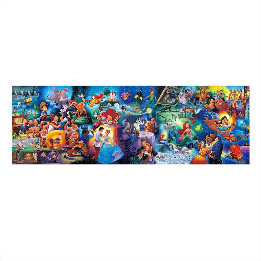 ディズニーオールキャラクター ジグソーパズル ぎゅっと456ピース 「ディズニーキャラクター名場面集」