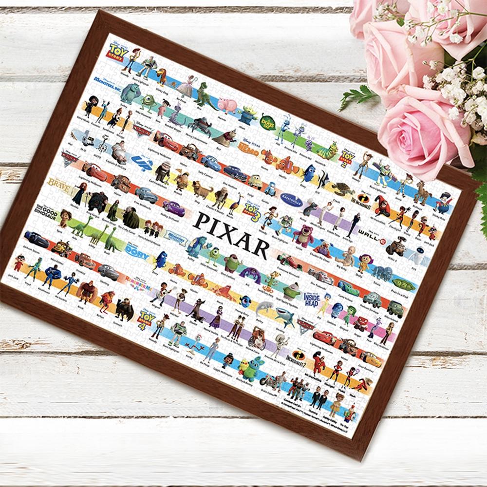 ピクサーオールキャラクター ジグソーパズル 世界最小1000ピース  「ディズニー/ピクサー コレクション(21作品)」