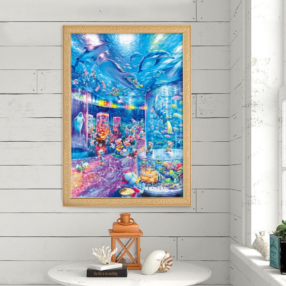 ミッキー&フレンズ ジグソーパズル 光る 1000ピース 「ナイト アクアリウム 」