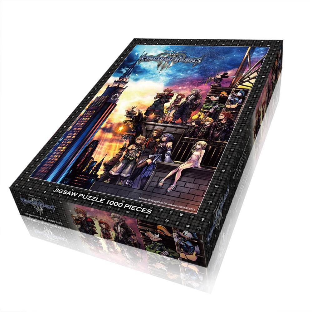 キングダムハーツ ジグソーパズル 1000ピース「キングダム ハーツⅢ」