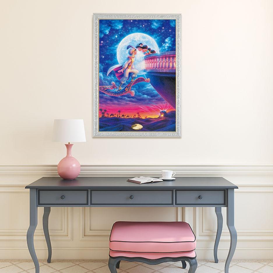 アラジン ジグソーパズル 光る 1000ピース ムーンライト コレクション・シリーズ「ムーンライト ロマンス 」