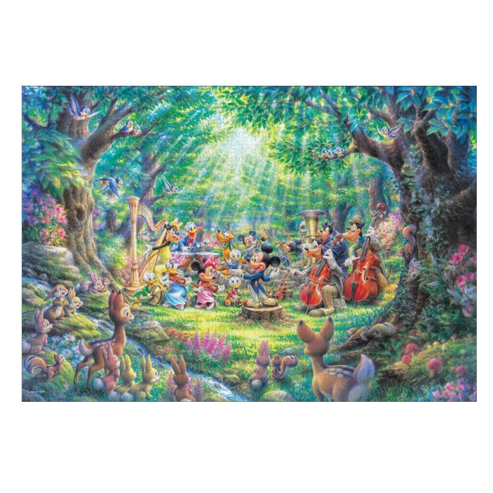 ミッキー&フレンズ ジグソーパズル  1000ピース 「森のフィルハーモニー 」