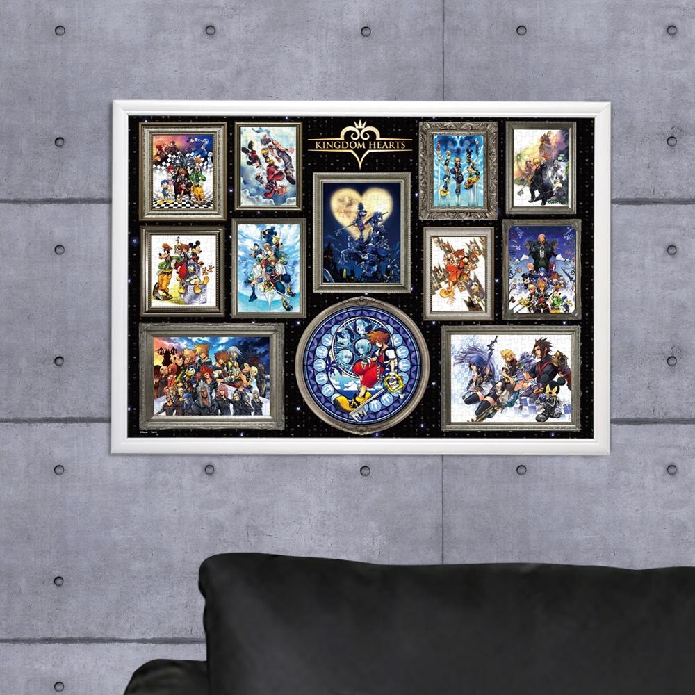 キングダム ハーツ  ジグソーパズル 1000ピース 「キングダム ハーツ アート集」