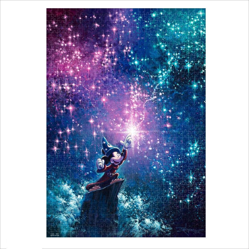 ファンタジア ジグソーパズル キャンバススタイル 1000ピース スペシャルアートコレクション ロデル・ゴンザレス 「Sorcerer's Apprentice」