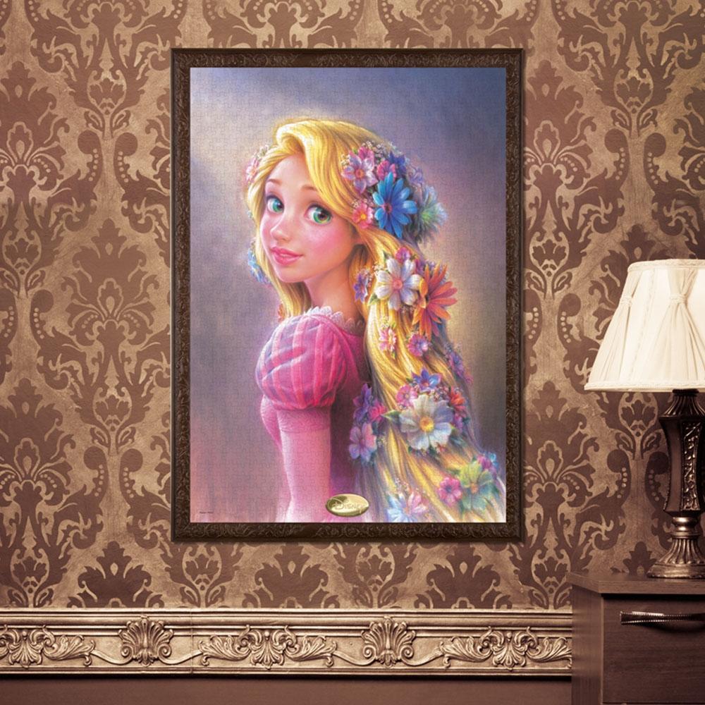 塔の上のラプンツェル  ジグソーパズル キャンバススタイル 1000ピース 「輝く髪のプリンセス(ラプンツェル) 」
