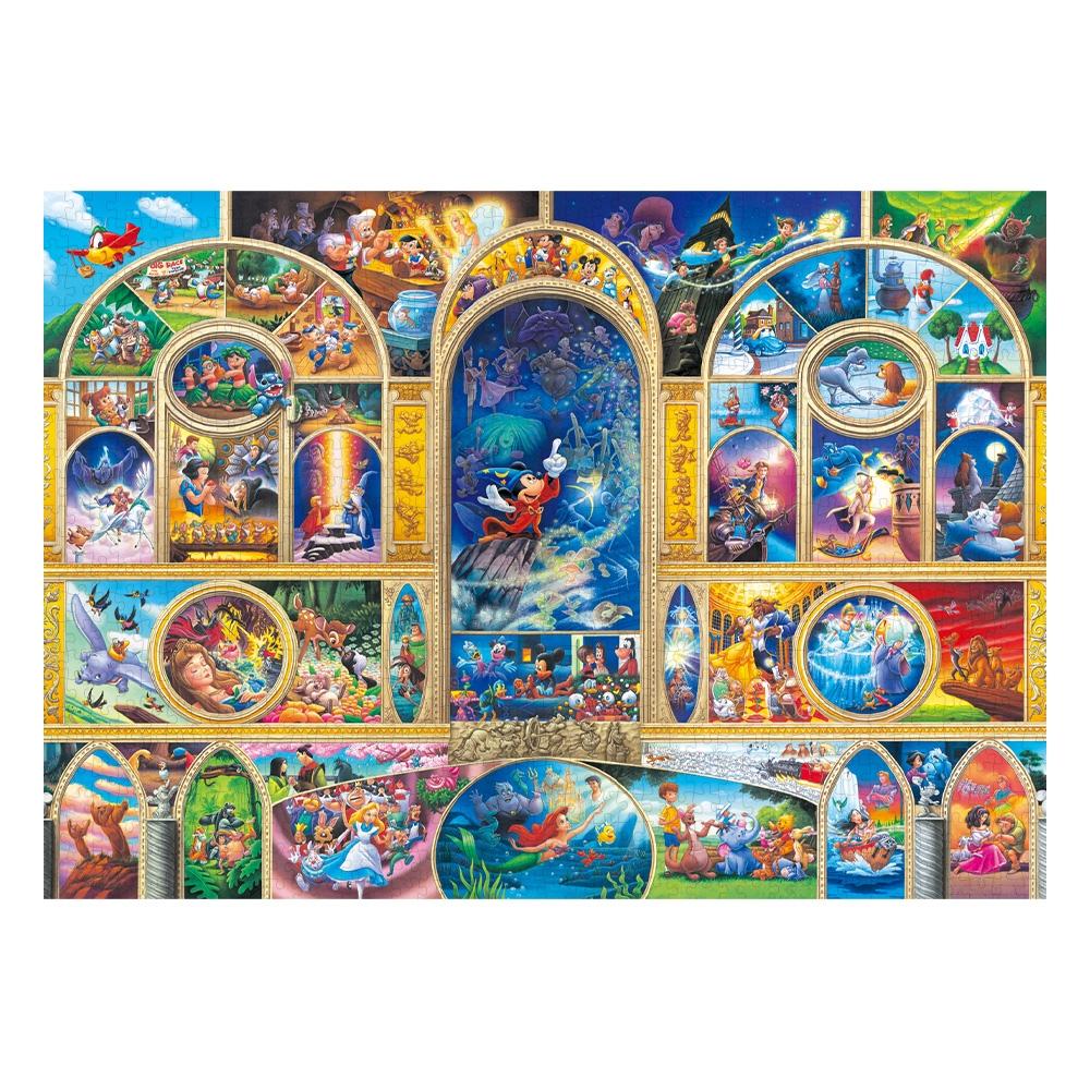 オールキャラクター ジグソーパズル 世界最小1000ピース「ディズニー オールキャラクター ドリーム」