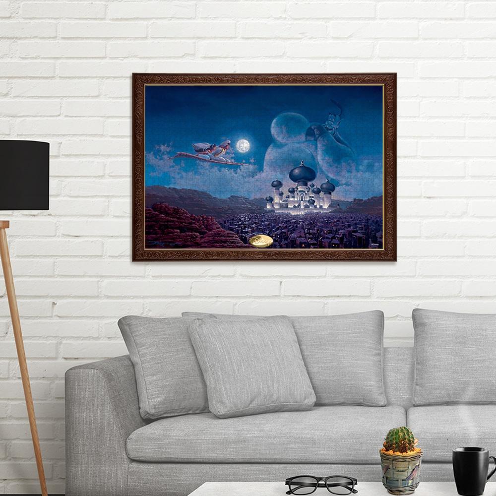 アラジン ジグソーパズル 光る 1000ピース スペシャルアートコレクション ロデル・ゴンザレス 「フライト オーバー アグラバー(アラジン)」