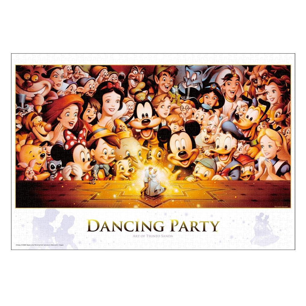 オールキャラクター ジグソーパズル 1000ピース「Dancing Party」スペシャルアート コレクション ツネオ・サンダ