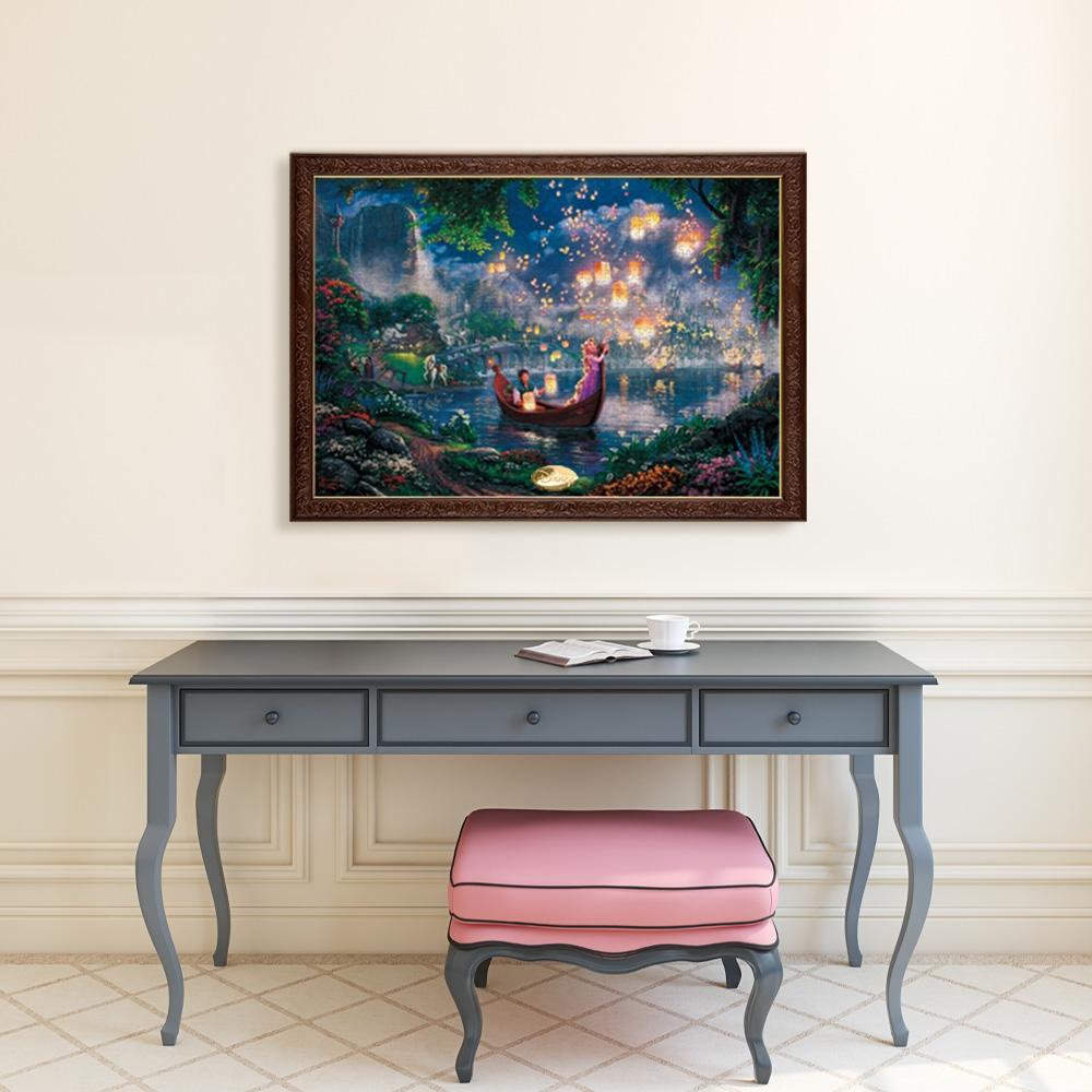 ラプンツェル ジグソーパズル キャンバススタイル 1000ピース スペシャルアートコレクション トーマス・キンケード 「Tangled」