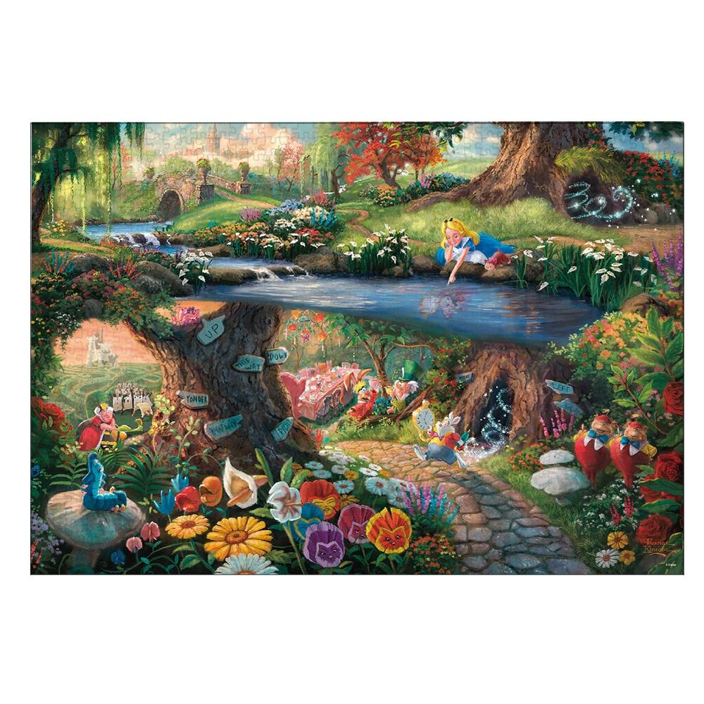 ふしぎの国のアリス ジグソーパズル 1000ピース Alice in Wonderland