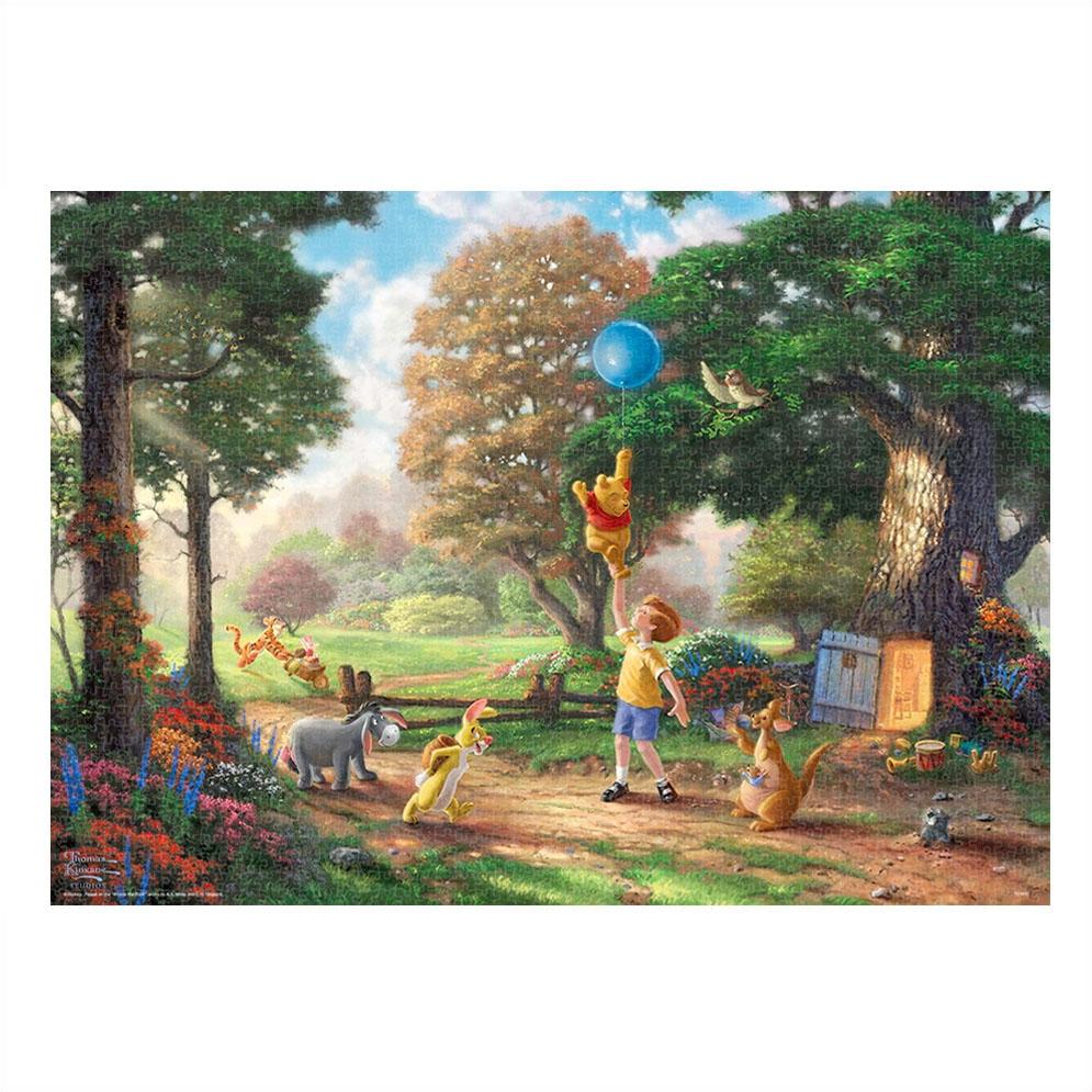 くまのプーさん ジグソーパズル 2000ピース スペシャルアート・コレクション トーマス・キンケード 「Winnie The Pooh II」