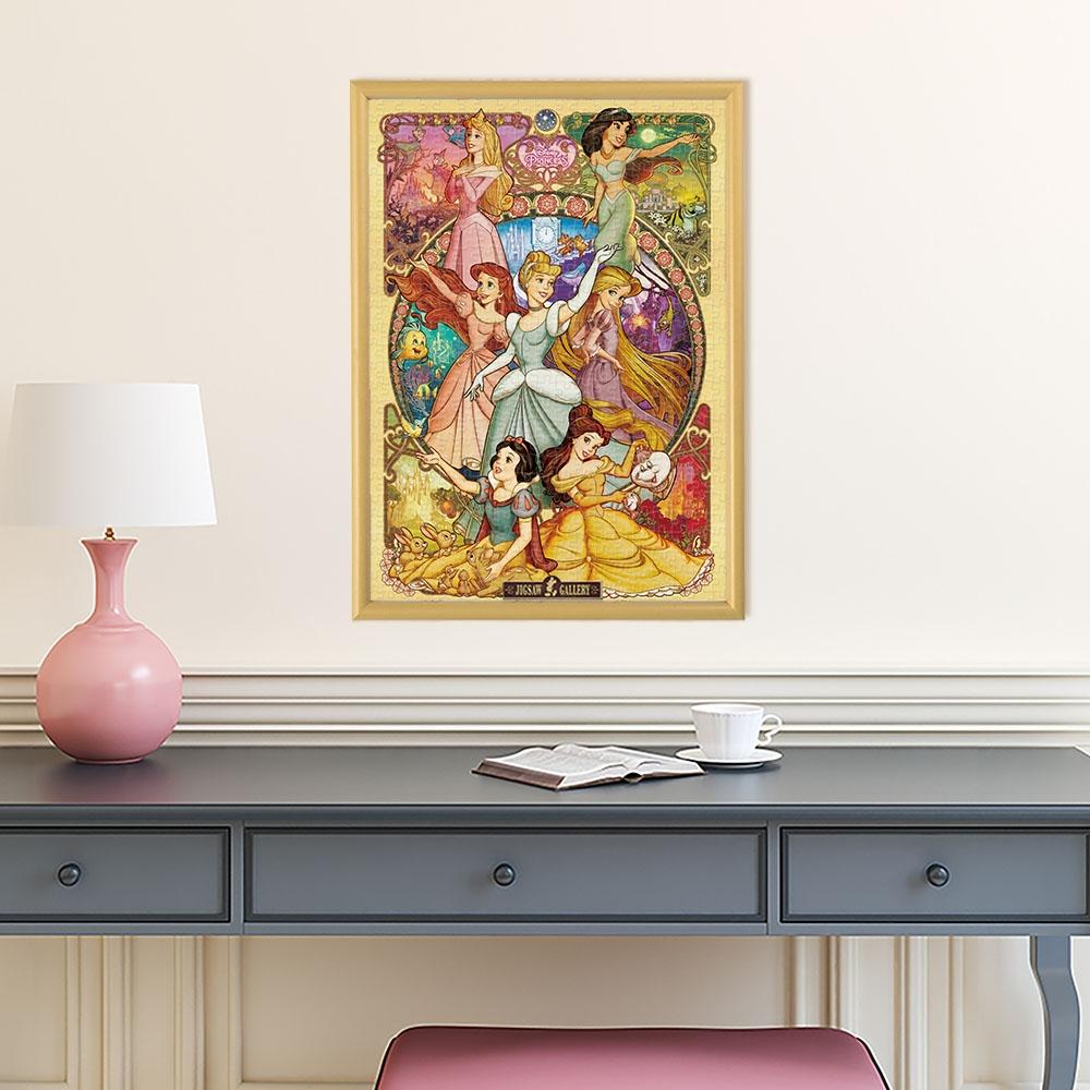 ディズニープリンセス 500ピース ジグソーパズル 「美しく咲き誇る乙女(ディズニープリンセス)」