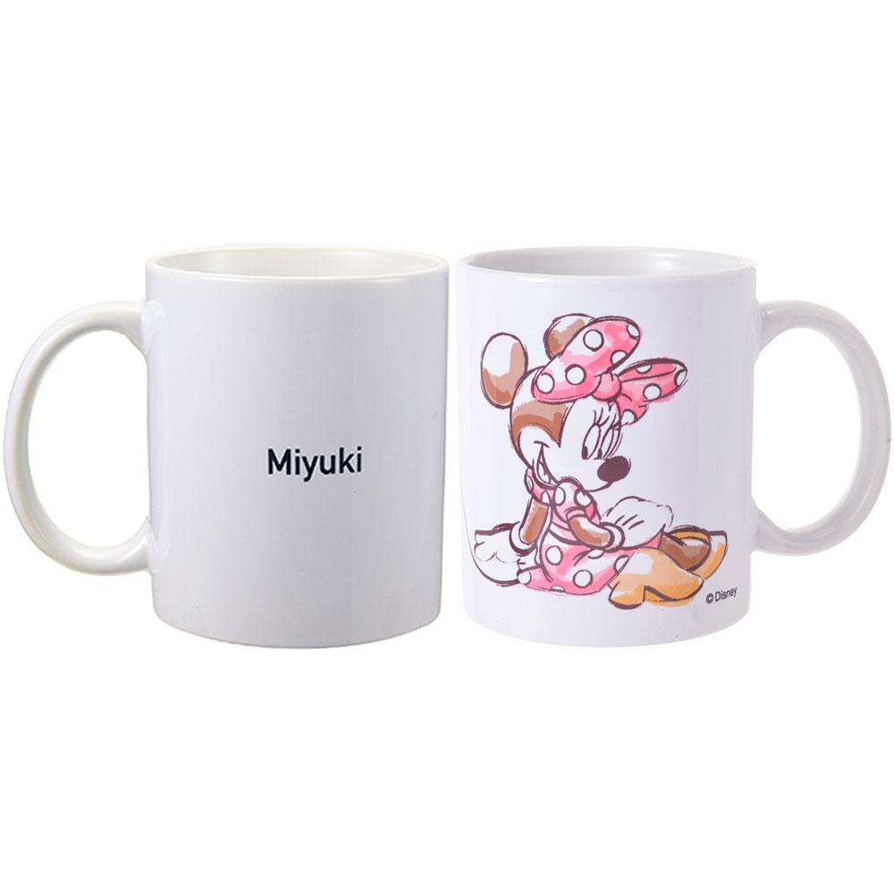 【D-Made】名入れ マグカップ ミニー