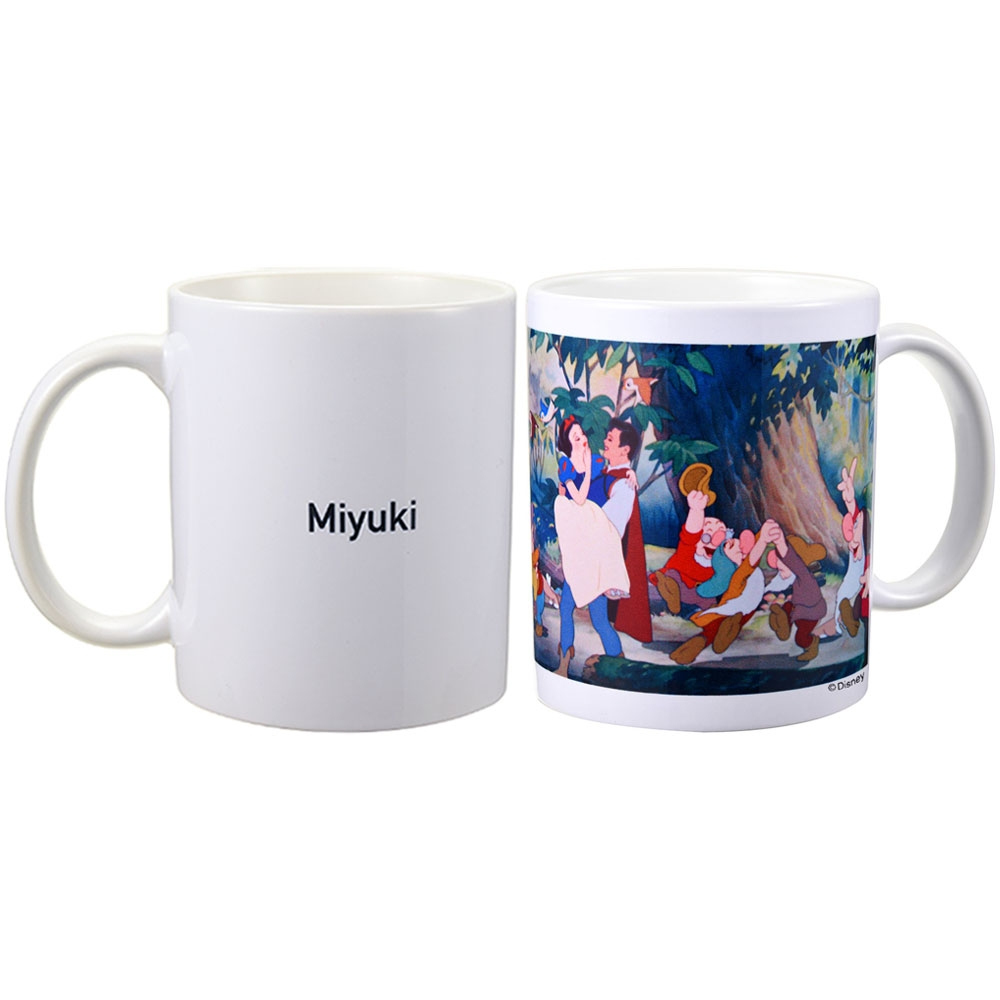 【D-Made】名入れ マグカップ 映画『白雪姫』