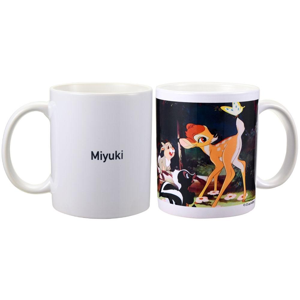 【D-Made】名入れ マグカップ 映画『バンビ』