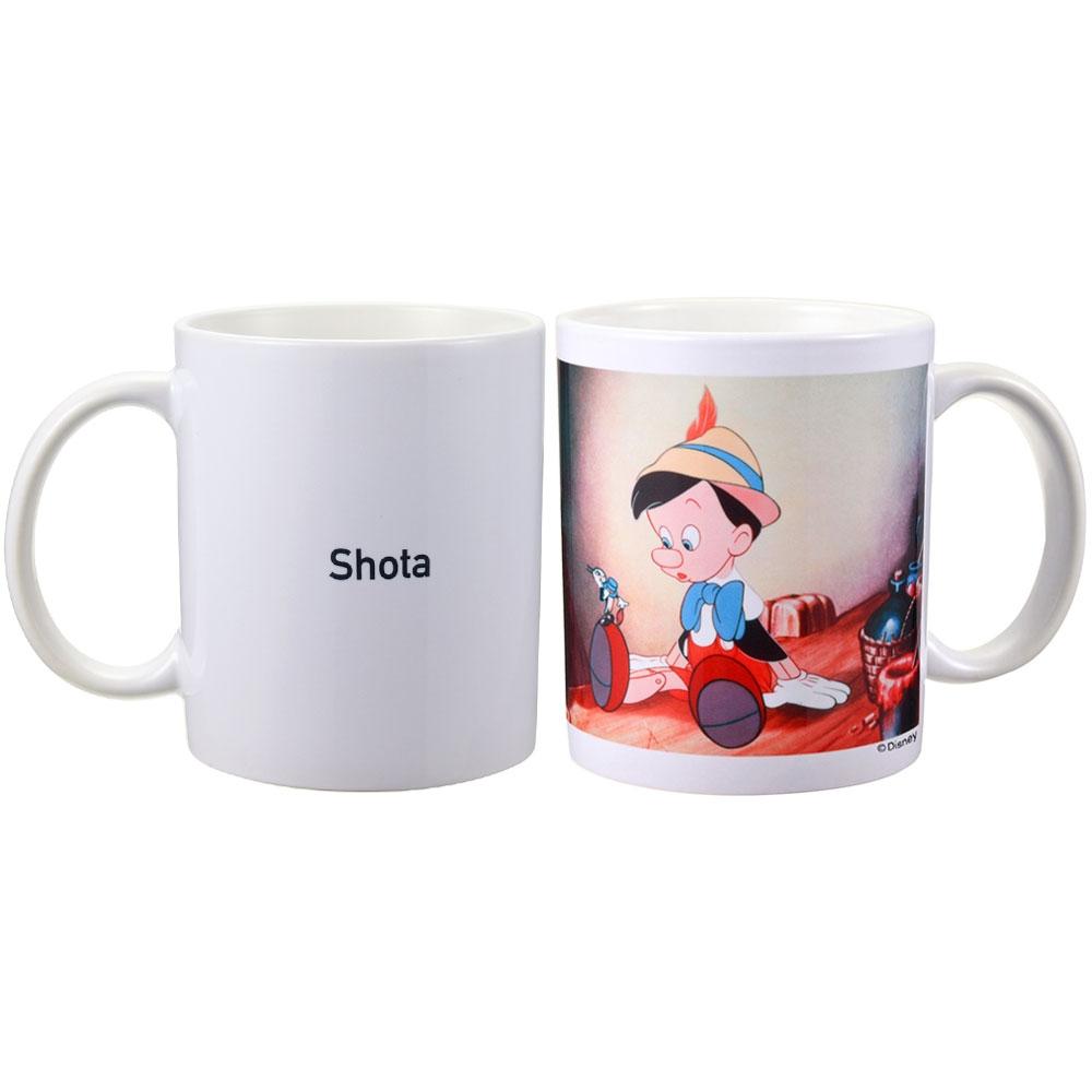 【D-Made】名入れマグカップ 映画『ピノキオ』
