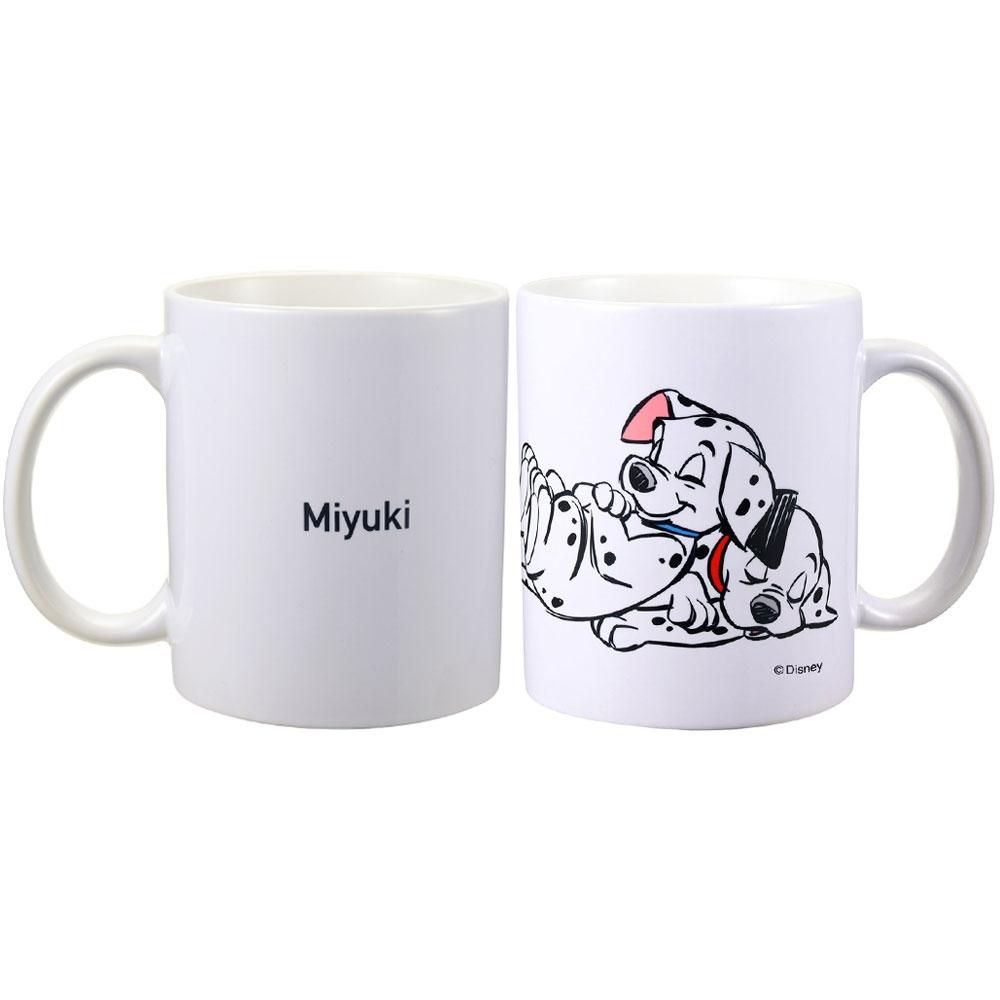 【D-Made】名入れ マグカップ 101匹わんちゃん