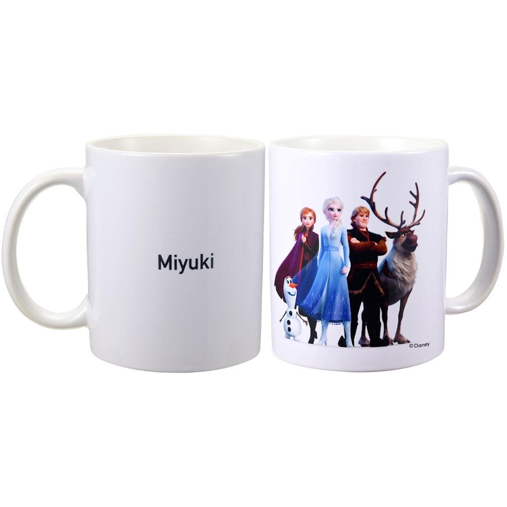 【D-Made】名入れ マグカップ アナと雪の女王