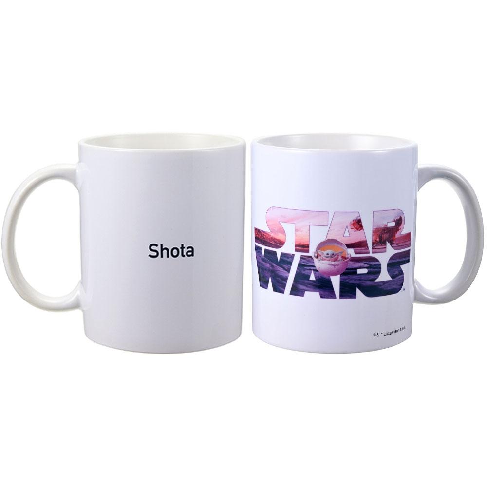 【D-Made】名入れ マグカップ STARWARSロゴ