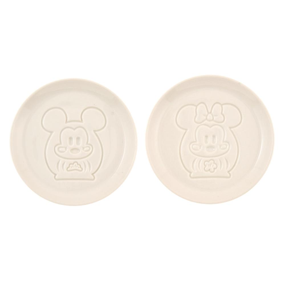ミッキー&ミニー 醤油皿 だるま Eto Disney 2021