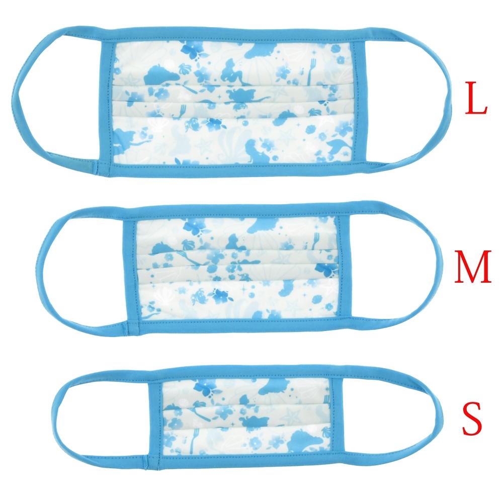 ディズニープリンセス、アナ&エルサ 家庭用布マスク(M) 4枚セット