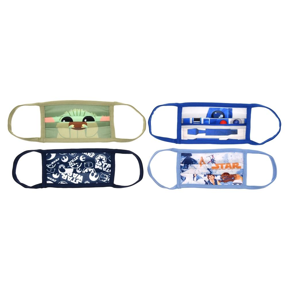 スター・ウォーズ 家庭用布マスク(S) 4枚セット