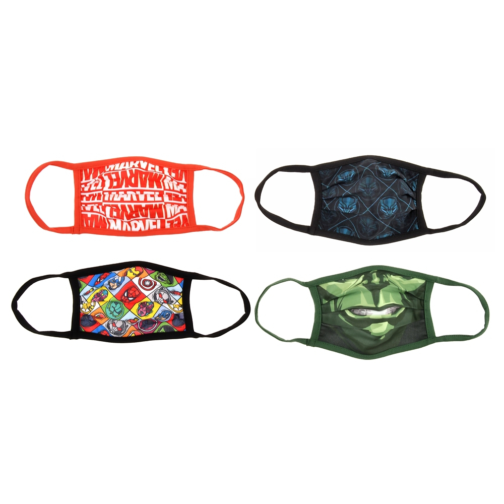 マーベル 家庭用布マスク(S) 4枚セット