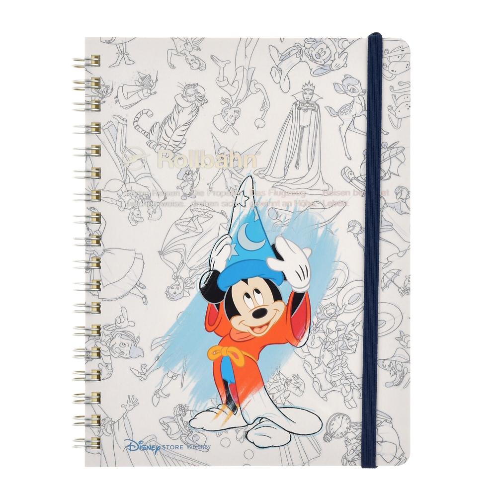 【デルフォニックス】ミッキー Rollbahn ポケット付メモ Mickey Mouse Birthday 2020