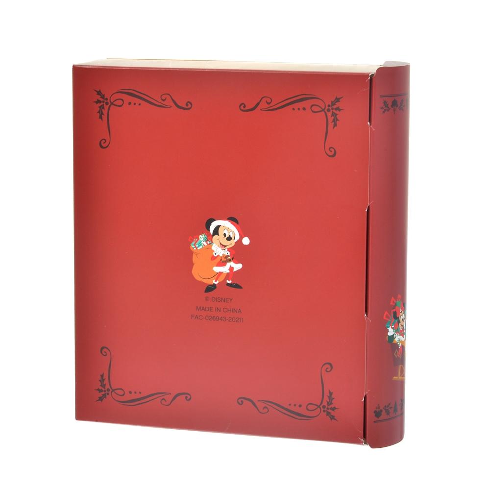 ミッキー&フレンズ クランチチョコ ブック型ボックス ポップアップ Disney Christmas 2020