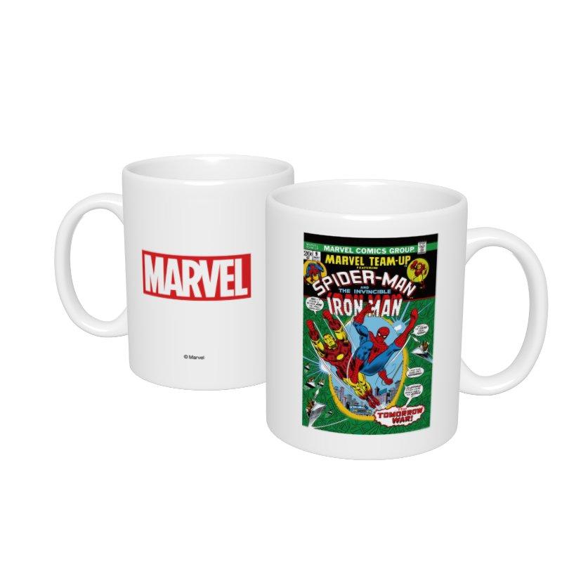 【D-Made】マグカップ  MARVEL コミック スパイダーマン アイアンマン