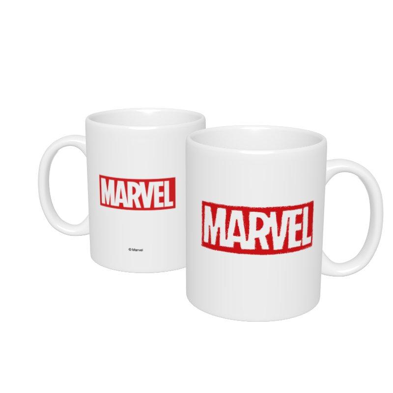 【D-Made】マグカップ  MARVEL ロゴ
