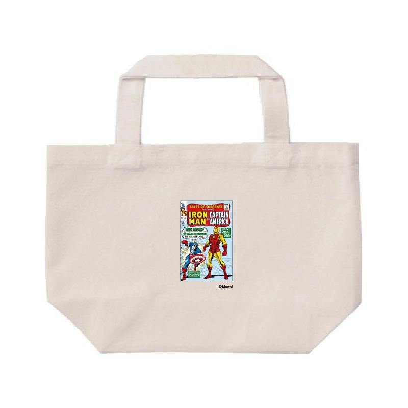【D-Made】ミニトートバッグ  MARVEL コミック キャプテンアメリカ アイアンマン