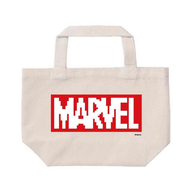 【D-Made】ミニトートバッグ  MARVEL ロゴ