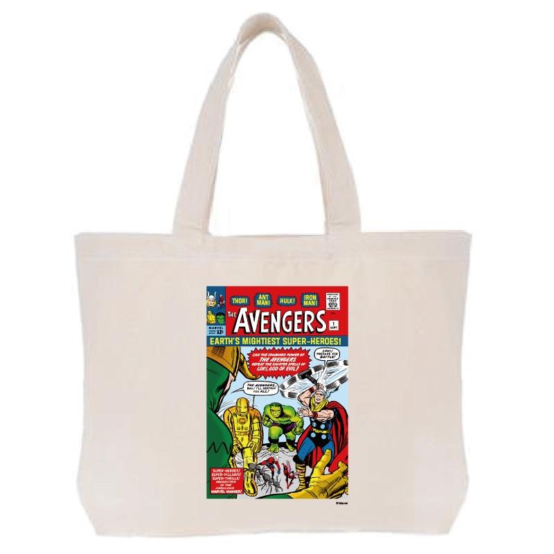 【D-Made】トートバッグ  MARVEL コミック アベンジャーズ