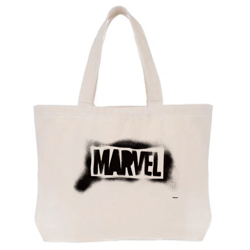 【D-Made】トートバッグ  MARVEL ロゴ