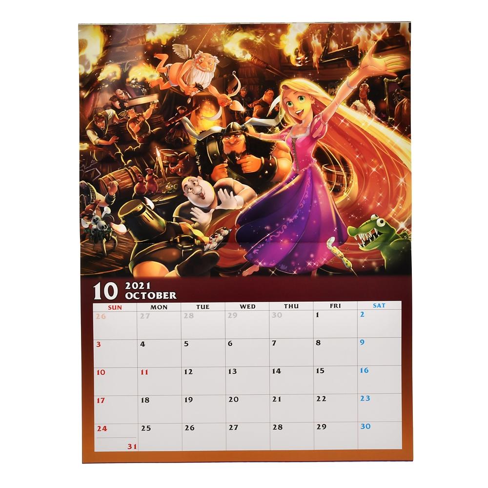 ディズニーキャラクター 壁掛けカレンダー 2021