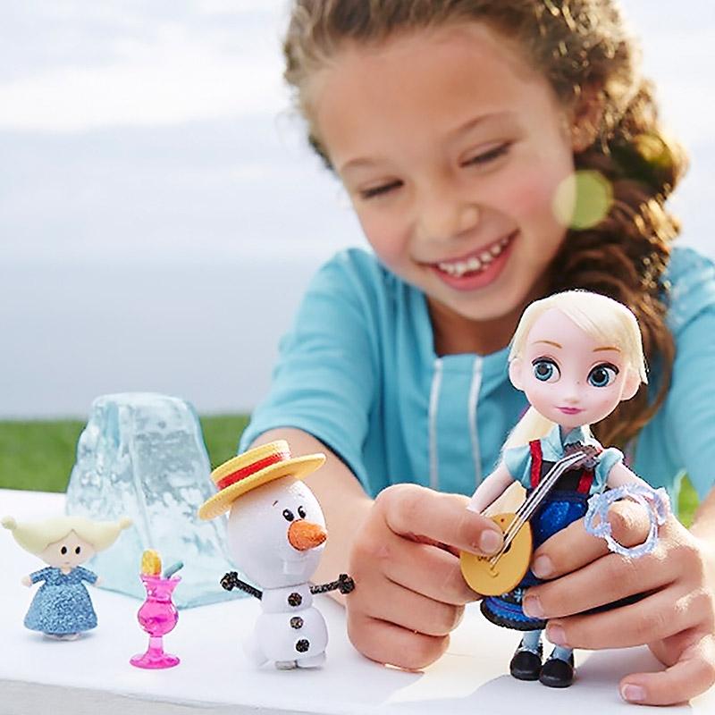 ディズニー アニメーター コレクションドール ミニプレイセット エルサ&オラフ
