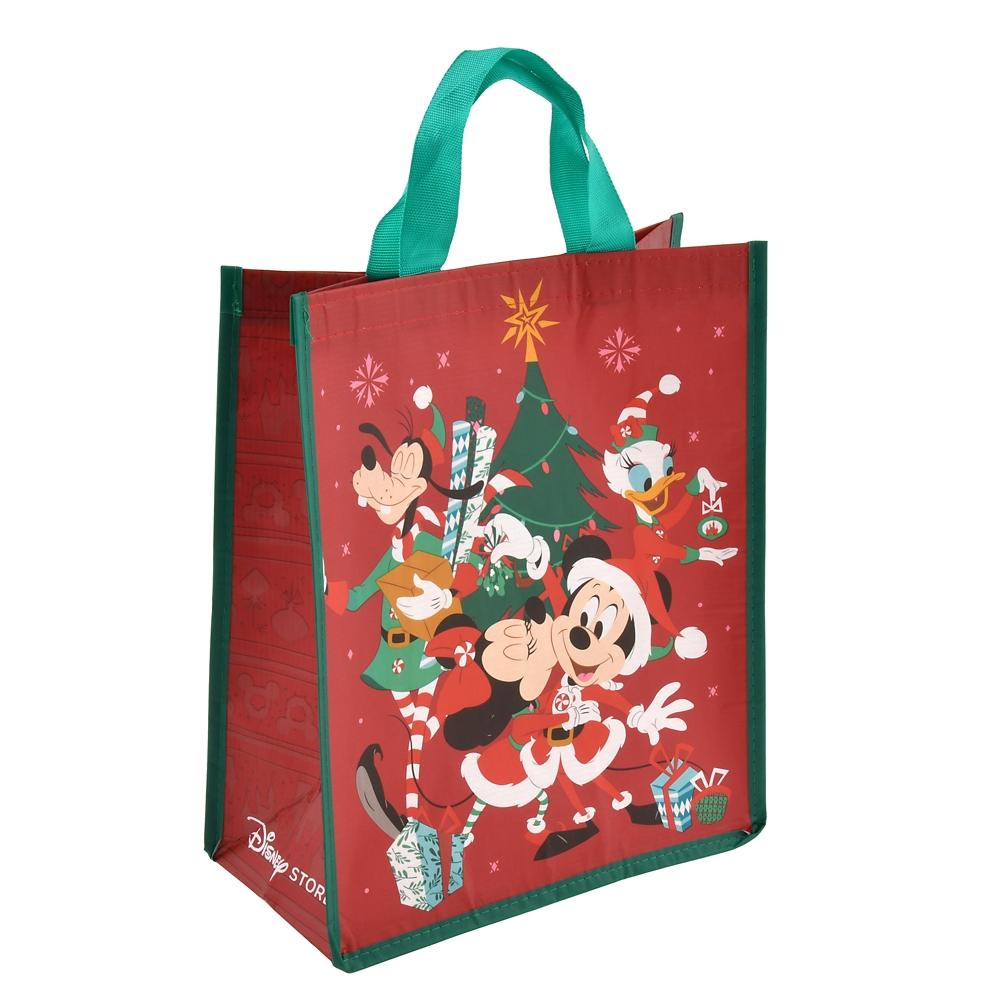 ミッキー&フレンズ ショッピングバッグ・エコバッグ (M) Disney Christmas 2020