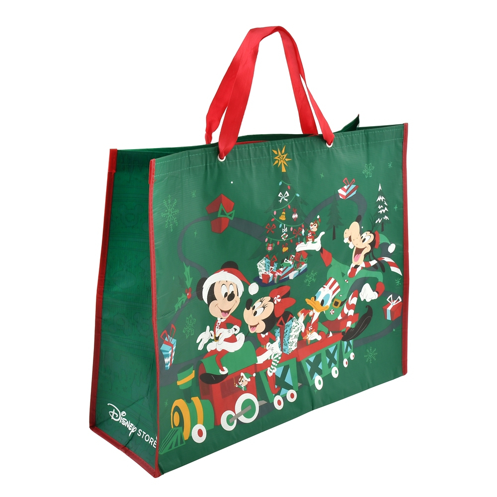 ミッキー&フレンズ ショッピングバッグ・エコバッグ(L) Disney Christmas 2020