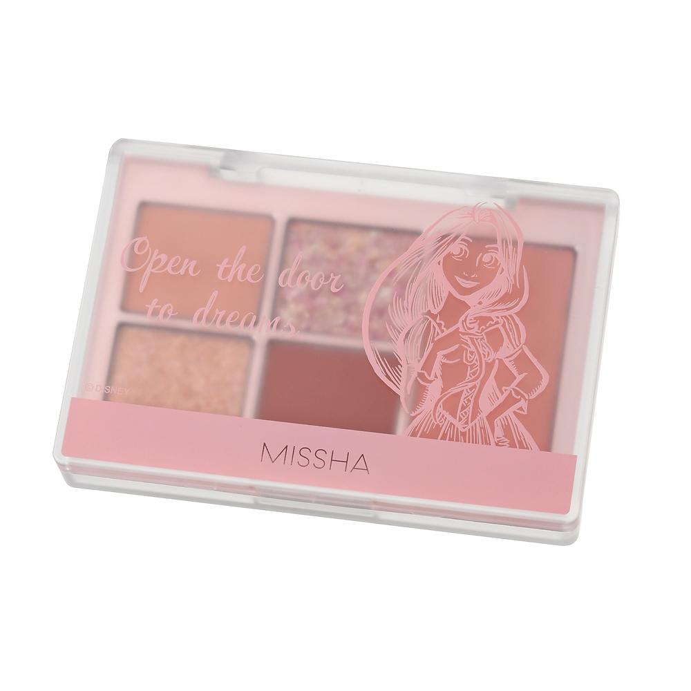 【MISSHA】ラプンツェル アイシャドウ・チーク イージーフィルターシャドウパレット ピンク