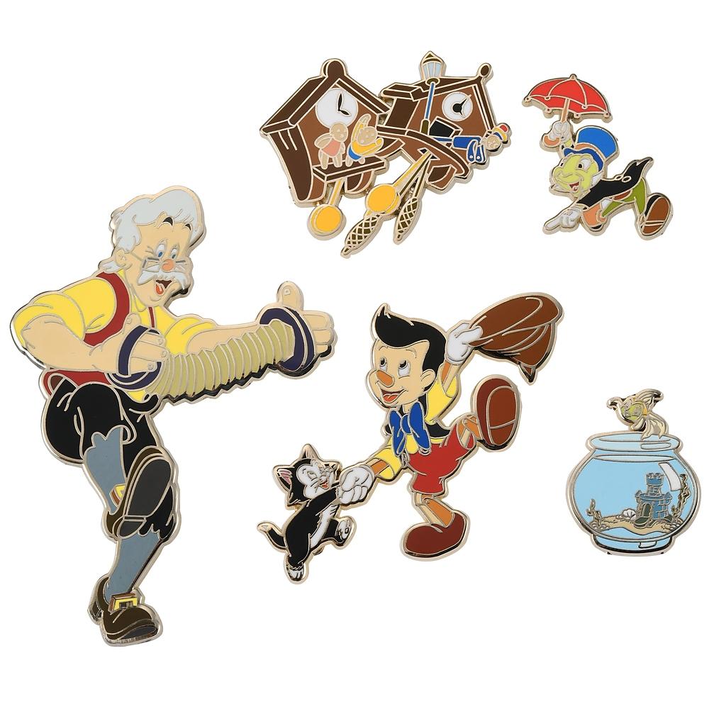 ピノキオ ピンバッジ セット アニバーサリー