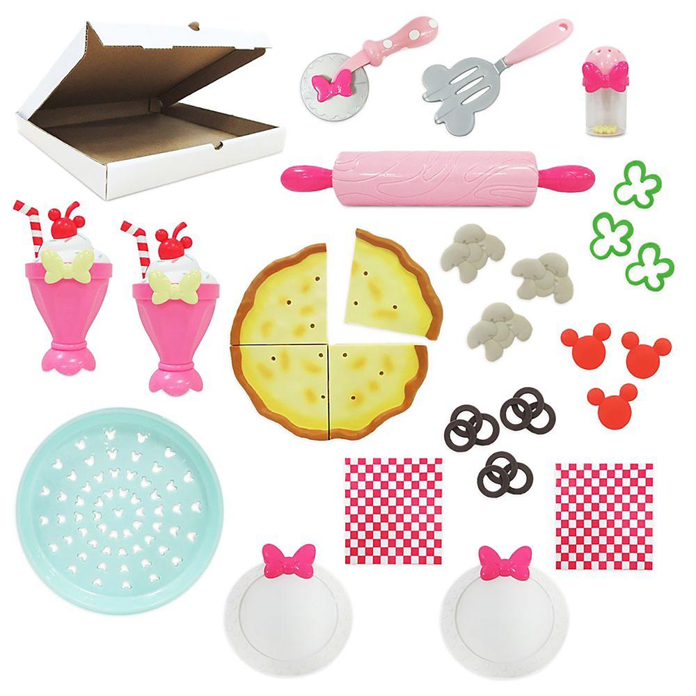 ミニー おもちゃ ピザパーティー クッキング プレイセット
